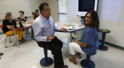Principals test out, select innovative classroom furniture