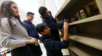 EPISD Community Schools partners to open community food pantries