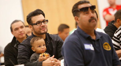 Fathers an important component to student success at Herrera Elementary