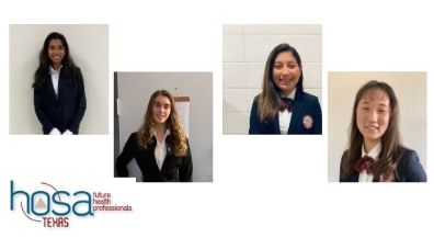 Four EPISD students selected to serve as HOSA area officers
