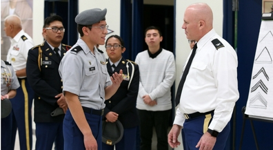 National JROTC Director impressed with EPISD