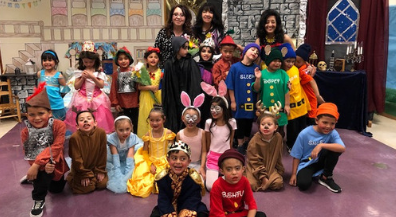 Moreno Elementary kindergartners stage Snow White