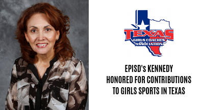 EPISD Athletic Director honored for contributions to girls in sports