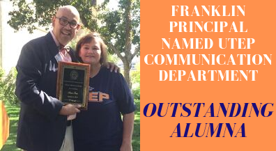 Franklin principal named outstanding ex by UTEP Communication Department
