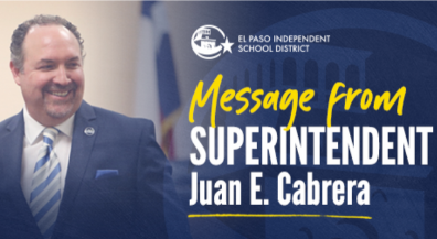 Superintendent Cabrera: EPISD@HOME will help keep students on track academically