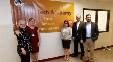 Educators visit EPISD to learn New Tech implementation
