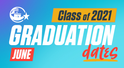 Class of 2021 graduation dates set