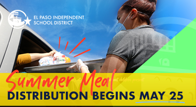 EPISD summer meal distribution for children starts Monday