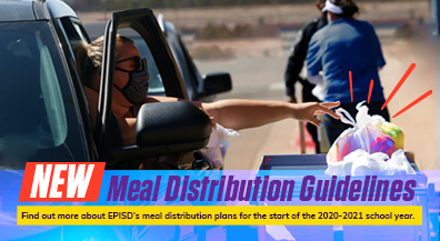 EPISD outlines meal distribution guidelines for new school year, virtual learning