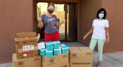 EPISD nurses get masks, gowns from local doctor
