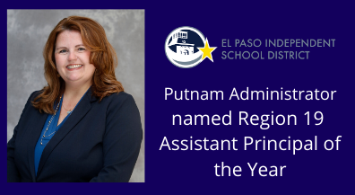Putnam administrator named Region 19 Assistant Principal of the Year