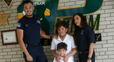 Putnam Hero: Second grader recognized for actions during fiery crash