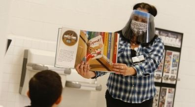 EPISD celebrates Read Across the District at home, learning pods