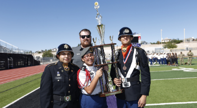 EPISD JROTC Fall Drill shows off cadet talent