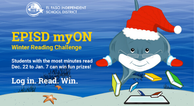 EPISD Winter Break Reading Challenge starts Sunday