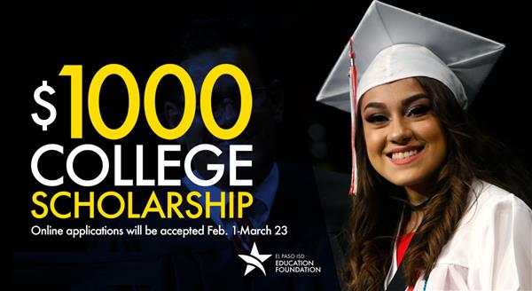 EPISD Education Foundation now accepting applications for scholarships