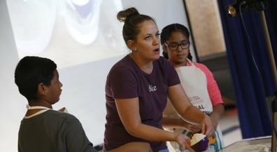 One for me, one for you: Schuster students learn to bake and share