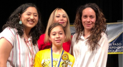 Young Women's Academy student wins EPISD Spanish Spelling Bee