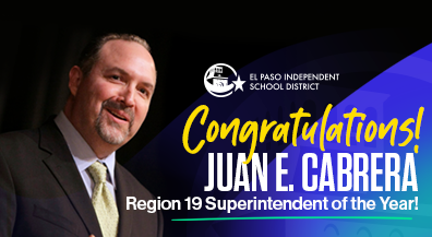 Cabrera named Region 19 Superintendent of the Year