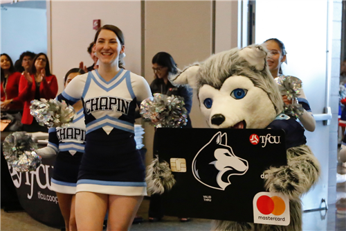 TFCU High School Spirit Debit Card launch