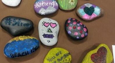Rock art project helps send El Paso Strong message