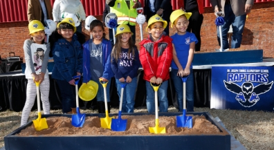 Torres Elementary groundbreaking: EPISD's first Bond 2016 consolidation project kicks off