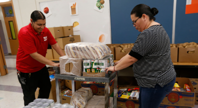Telles Academy opens food pantry to benefit area students