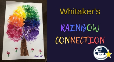 Whitaker Rainbows use mascot for artistic inspiration
