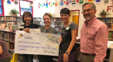EPISD foundation gives $17,000 in teacher grants