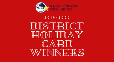 EPISD Holiday Card art contest winners announced