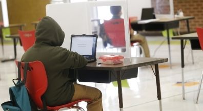 Learning pods open for selected EPISD students. Most students remain learning virtually