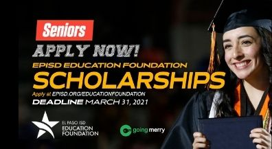 New scholarship portal makes applying easier for EPISD seniors