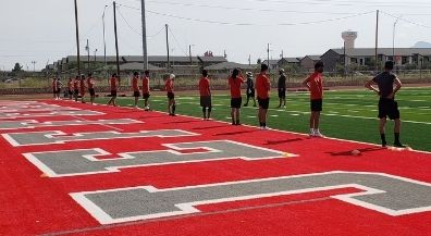 EPISD student athletes, performers return to practice under strict health guidelines