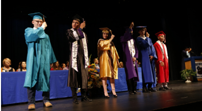 EPISD summer graduates receive high-school diploma