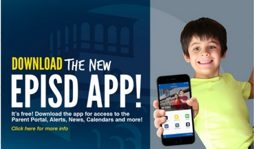 Announcing the NEW EPISD mobile App!