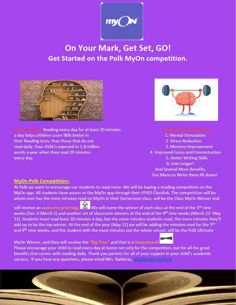 MyOn Competition Newsletter