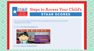 Your Child's STAAR Scores