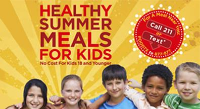 Summer food service program helps children stay active, healthy