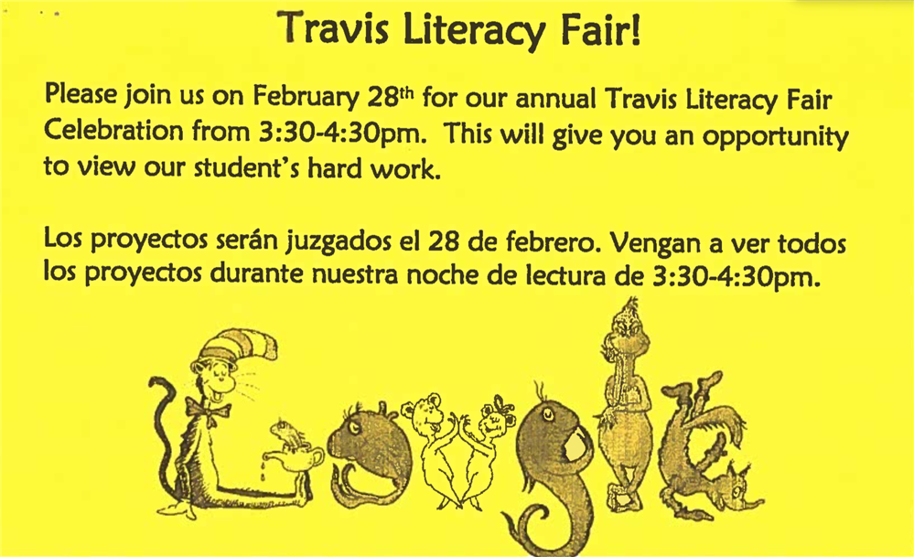 Travis Literacy Fair