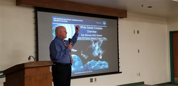 Nasa Director Speaks to Students about the future of NASA