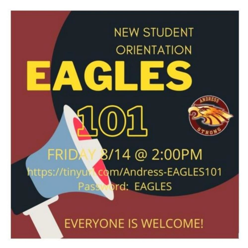 New Student Orientation this Friday