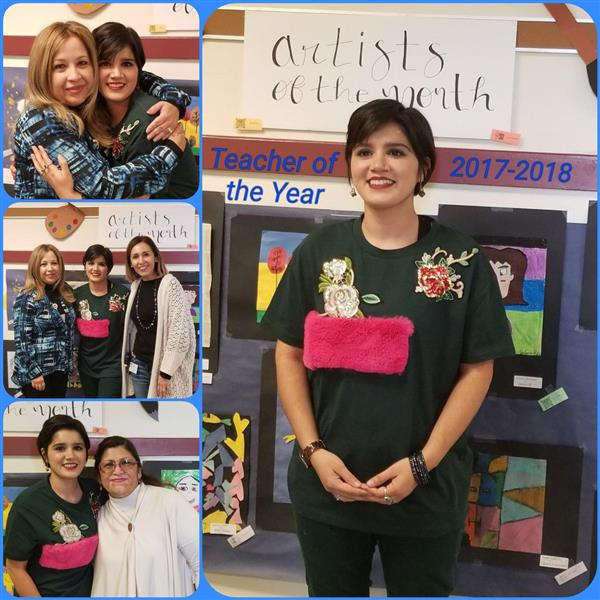 Zavala's Teacher of the Year 2017-2018