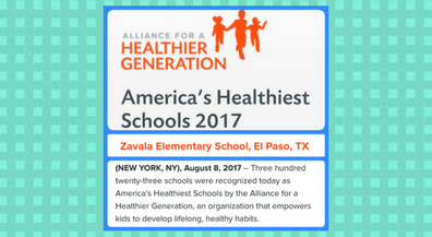 Zavala, the Healthiest School