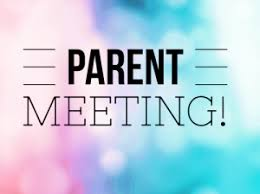 UPDATED- Parent Meetings with Principal