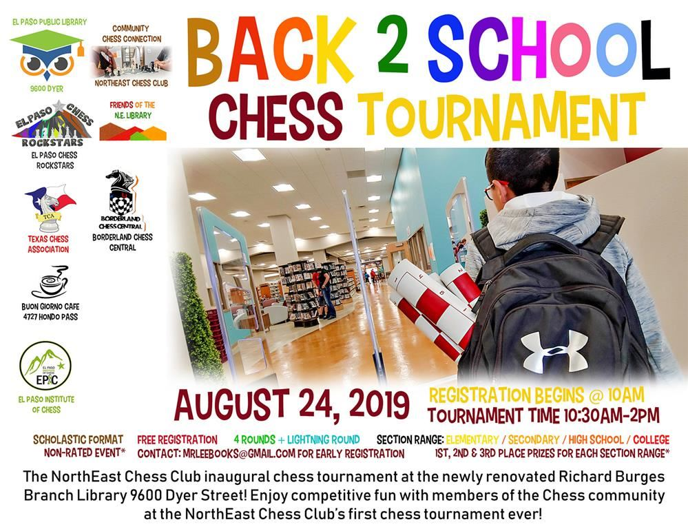 Back to School Chess Tournament