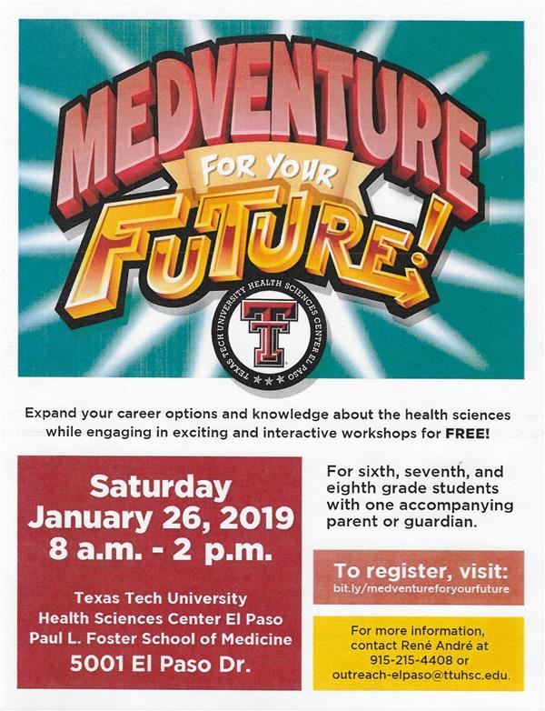 MEDVENTURE FOR YOUR FUTURE!