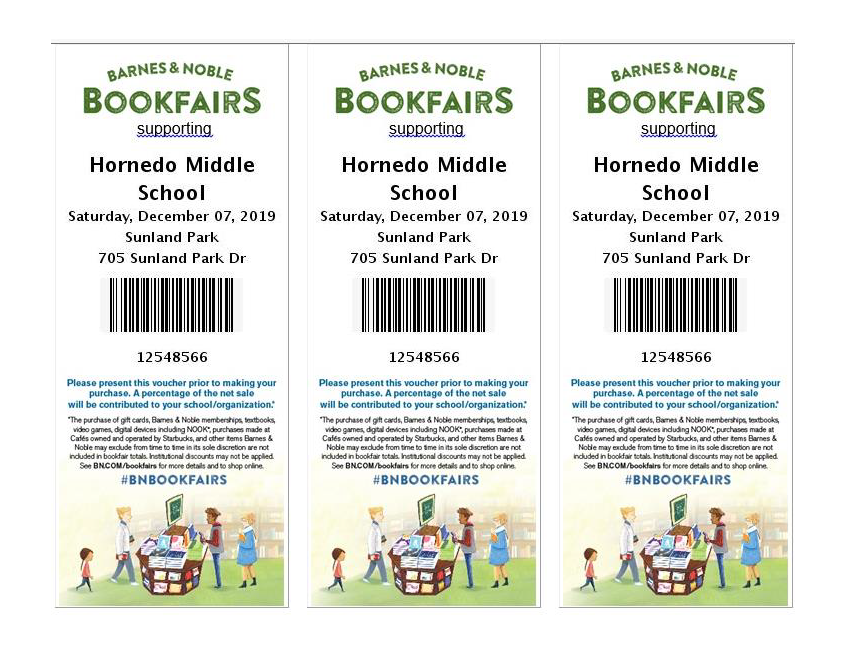 Barnes & Noble Book Fair!