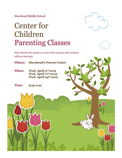 Center for Children Parenting Class