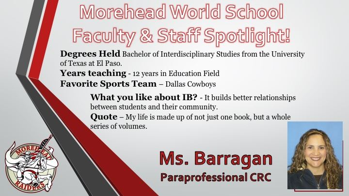 Faculty Spotlight!