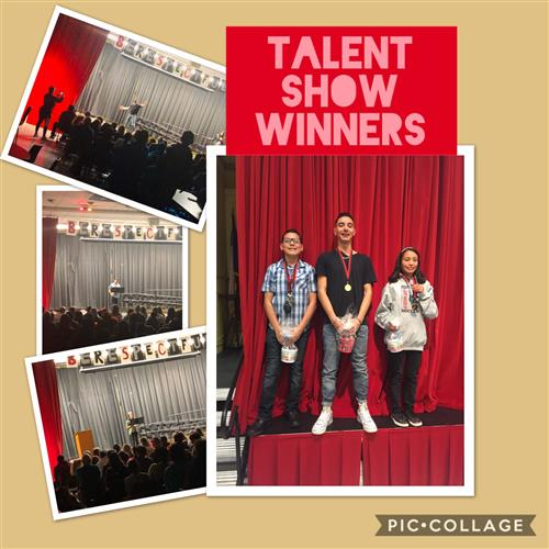 Talent Show Winners
